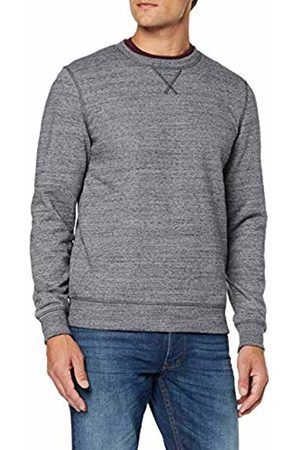 Tom Tailor Men's Multicolour Sweatshirt, (Navy Multi Mela 19512)