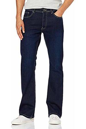 Enzo Men's EZ401 Bootcut Jeans, Indigo