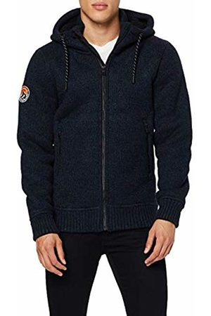 Superdry Men's Bonded Knit Ziphood Hoodie