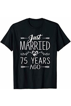 Wowsome! 75th Wedding Anniversary Gifts 75 Years Marriage Matching T-Shirt