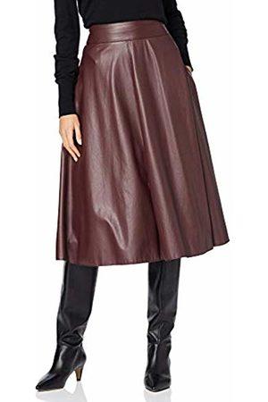 Daniel Hechter Women's Fake Leather Skirt Beet 365