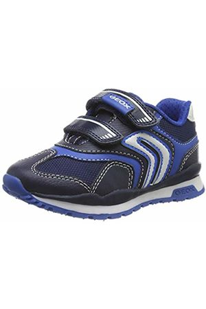 J Alben Boy D Trainers for Boys, by GEOX® blue dark solid with design, Shoes | Vertbaudet