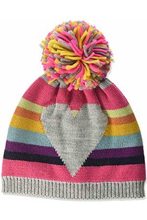 maximo Baby Girls' Mit Ringel Herz und Pompon Hat