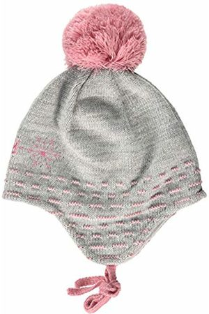 maximo Girls' mit Snow Flake Strass Pompon und Bindeband Hat