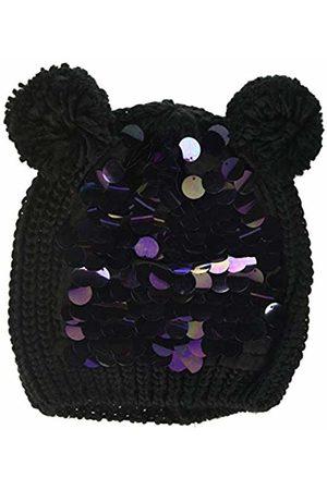 MEK Girl's Cappello Tricot Con Paillettes Cap