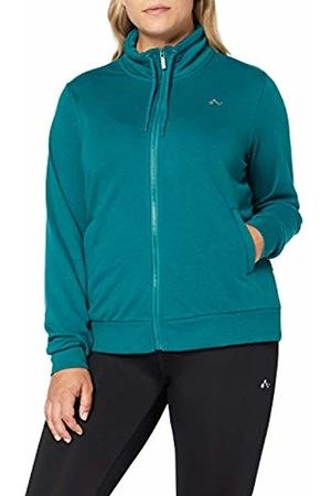 ONLY Play Curvy Women's Onpelina High Neck Sweat Curvy-Opus Sports Knitwear, Turquoise Shaded Spruce