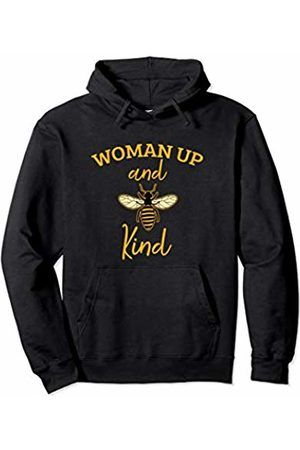 Bee is my Name Tees Woman Up and Be Kind Funny Beekeeping Lover Kindness Pullover Hoodie