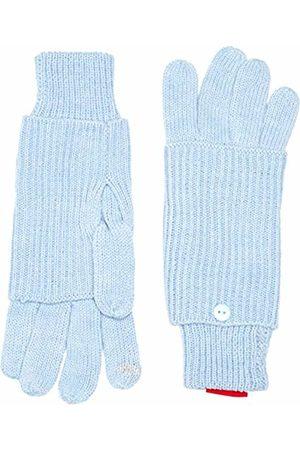 s.Oliver Women's 39.510.96.3128 Gloves, Blau ( Melange 52W1)