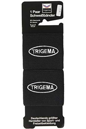 Trigema Men's Herren Frottee Schweißband-Set Arm Warmer, (Schwarz 008)