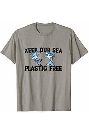 SnuggBubb Keep our sea plastic free cute sharks T-Shirt