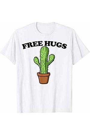 Miftees Free Hugs Cactus funny antisocial not a hugger T-Shirt