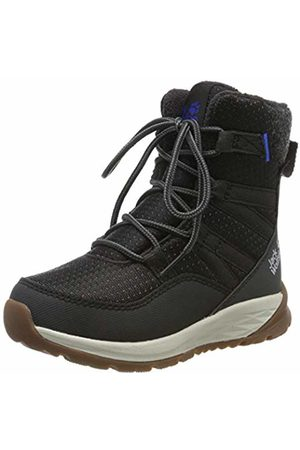 Jack Wolfskin Unisex Kids' Polar Bear Texapore High K Wasserdicht Snow Boots, (Phantom/Off- 6365)