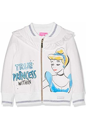 Disney Girl's RH1406 Sweatshirt, ( Owhite)
