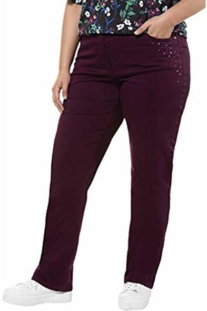 Ulla Popken Women's Jeans, verkürzt Straight