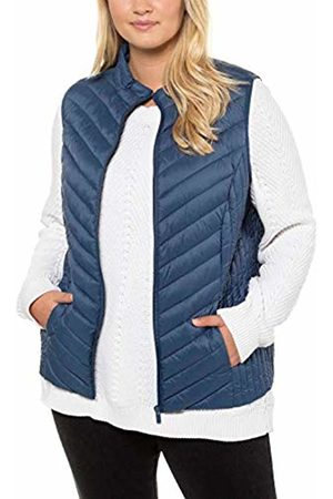 Ulla Popken Women's Steppmantel Outdoor Gilet