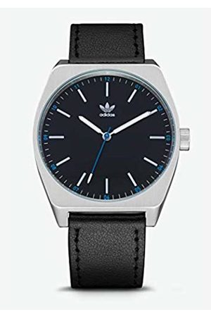adidas Mens Analogue Quartz Watch with Leather Strap Z05-625-00