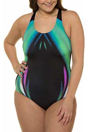 Ulla Popken Women's Jet Multiflex Pro Jeans Noos Swimming Costume