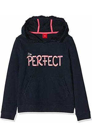 s.Oliver Girls' 53.909.41.2701 Sweatshirt, (Dark 5952)