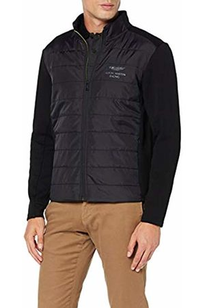 Hackett Men's Amr Nylon Quilt Sweatshirt, ( 999))