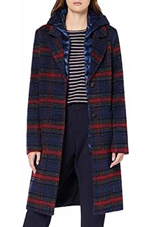 s.Oliver Women's 05.909.52.8000 Coat, (Electric Check 56N0)