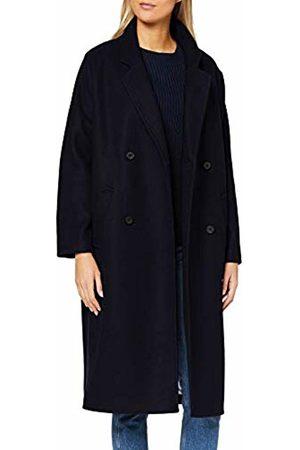 s.Oliver Women's 05.909.52.3324 Coat, (Night 5996)