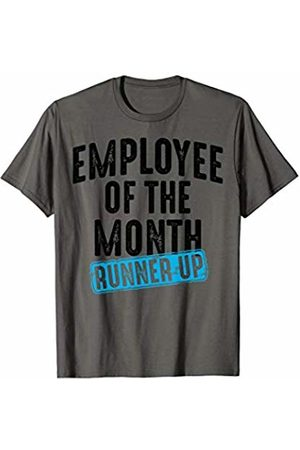 Funny Retro Second Place Office Employee Designs Employee Of The Month Runner Up | Best Worker Gift T-Shirt