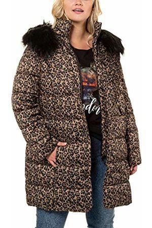 Ulla Popken Women's Leo-Steppmantel Coat