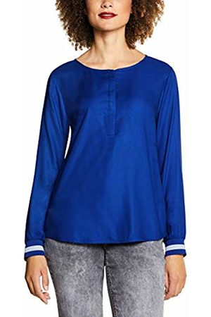 Street one Women's 341672 Vivian Blouse, (Cobalt 11784)