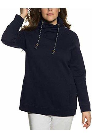 Ulla Popken Women's T-Shirt, Zierfalten, A-Linie, Rundhalsausschnitt Sweatshirt, ( 71)
