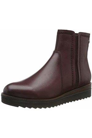 Women's 1 1 25055 23 Ankle Boots, (Merlot 537)