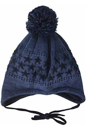 maximo Baby Boys' Mit Sternenmotiven Pompon und Bindeband Hat