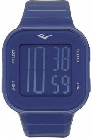 Everlast Unisex Digital Watch with Plastic Strap EV-504-003