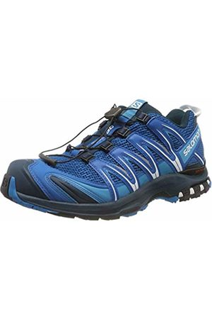 Salomon Men's Trail Running Shoes, XA Pro 3D, Sky Diver/Navy Blazer/Hawaiian Ocean