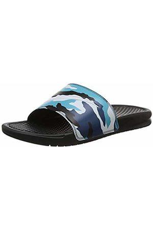 Nike Men's Benassi JDI Print Beach & Pool Shoes