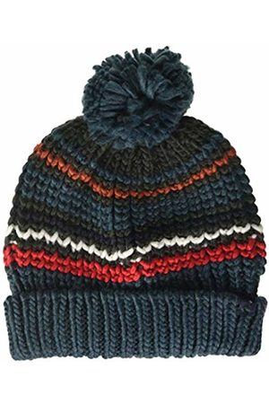 Joules Boy's Bobble Hat, ( Stripe Greenstrip)