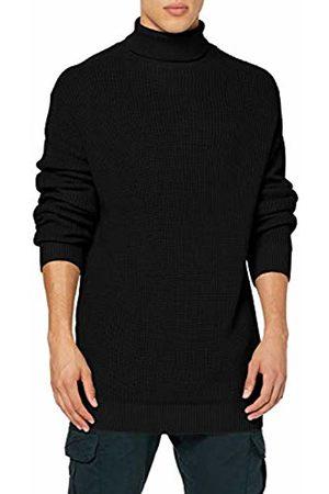 Urban classics Men's Cardigan Stitch Roll Neck Sweater Jumper, ( 00007)