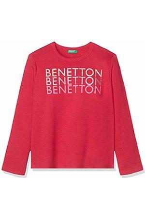 Benetton Girl's Basic G2 Sports Hoodie
