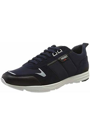 HUGO BOSS Men's Hybrid_Runn_nylt Low-Top Sneakers