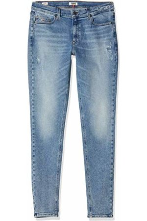Tommy Hilfiger Women's Mid Rise Skinny Nora Iwltd Straight Jeans