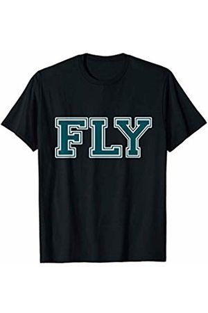 Philly Sports Fan Philadelphia Football Tee Fly Philadelphia Football Philly Philly Sports Fan T-Shirt
