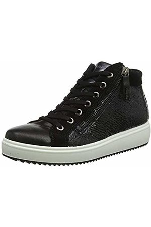 IGI &Co Women's Donna-41511 Hi-Top Trainers, ((Nero 4151200))