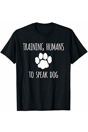 Humorous Mans Best Friend Apparel by Viral Designs Funny Canine Training - Dog Trainer Gift T-Shirt