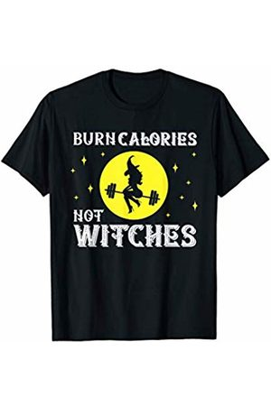 HotW: Halloween Workout Burn Calories Not Witches Funny Halloween Workout Vintage T-Shirt