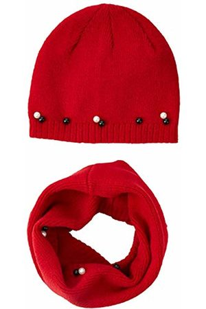 Brums Girl's Completo 2 Pezzi Cappello E Scaldacollo Tricot Scarf, Hat & Glove Set
