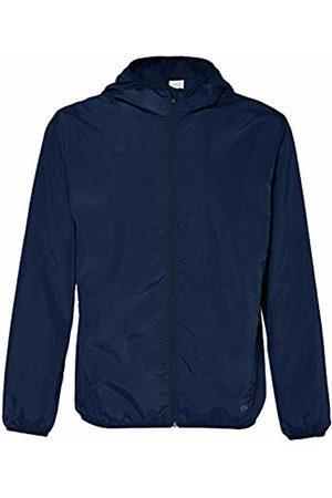 Care of by PUMA Men's Water Resistant Windbreaker Jacket, (Navy)