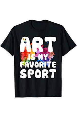 Art Lovers Art Is My Favorite Sport T-Shirt