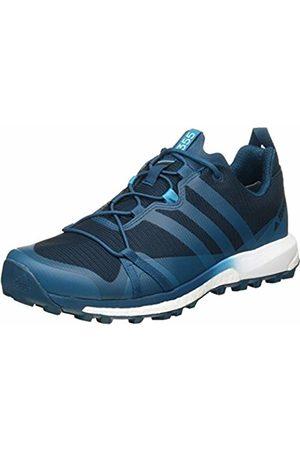 adidas Men's Terrex Agravic GTX Low Rise Hiking Boots, (Azunoc/Petmis/Ftwbla)