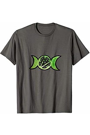 SnuggBubb Triple Moon Pentacle Art Pentagram T-Shirt