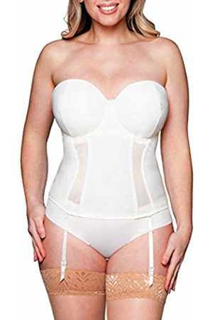 Curvy Kate Women's Luxe Corset, Off- Ivory