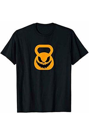 Miftees Kettlebell Scarecrow funny Halloween Kettlebell Pumpkin T-Shirt
